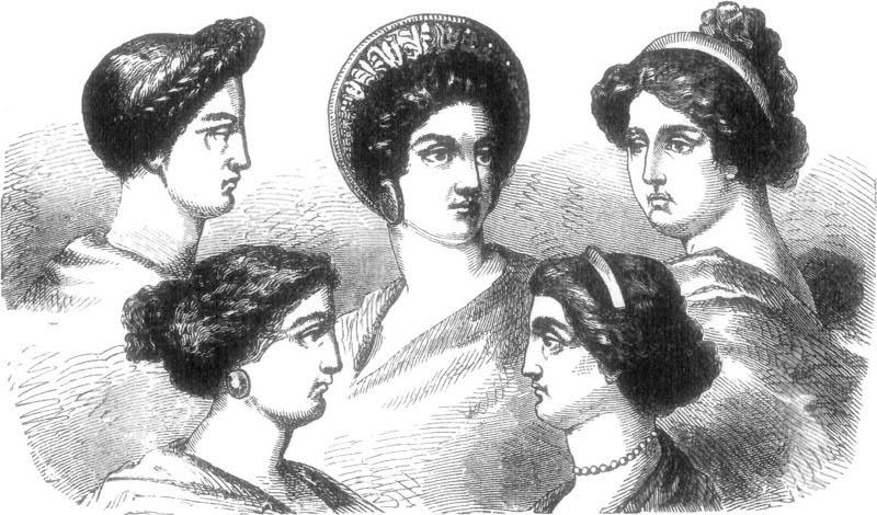 Hair Culture Of Ancient Romans Ella Es Fashion